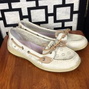 Sperry Laser Cut Angelfish boat shoes